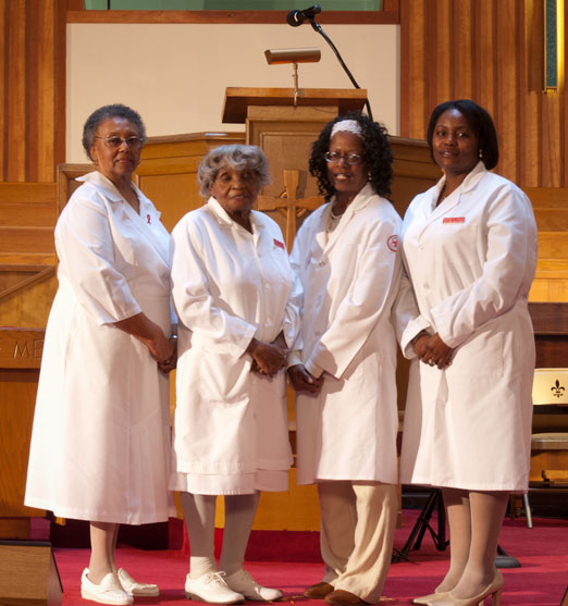 Ushers And Nurses Ministry Allen Temple